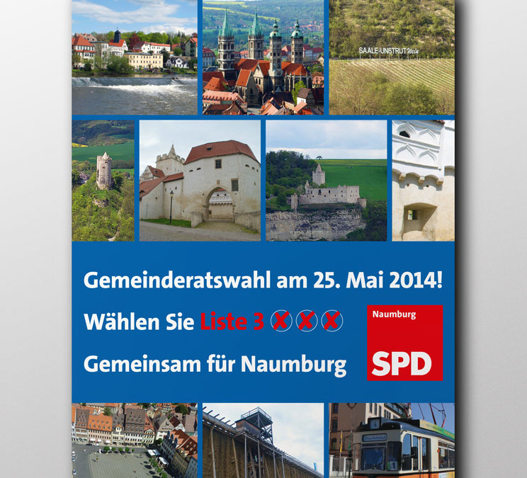 SPD Naumburg Plakat